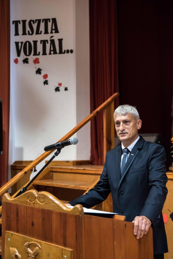 2017. október 23. Megyei megemlékezés Balkány